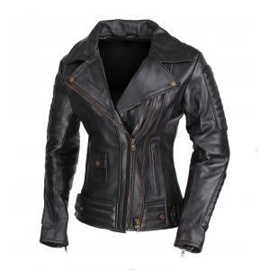 Dámská bunda na motorku křivák Street Racer Amber - II. jakost