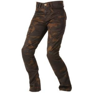 Dámské jeansy Ayrton Camino hnědé camo
