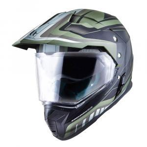 Enduro přilba MT Synchrony Duosport SV Tourer zeleno-černá matná