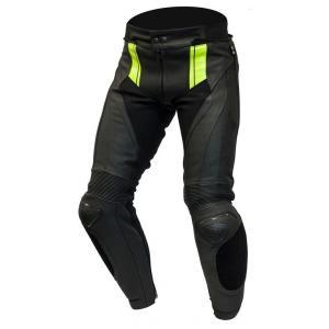 Kalhoty na motorku Ozone Volt černo-fluo žluté výprodej