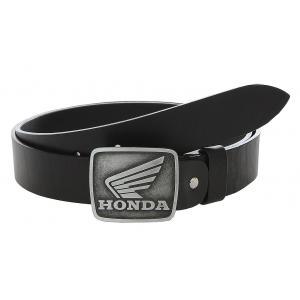Kožený moto opasek se sponou Honda