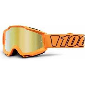 Motokrosové brýle 100% Accuri LUMINARI (zlaté zrcadlové plexi)