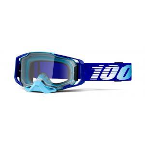 Motokrosové brýle 100% ARMEGA Royal modré (čiré plexi)