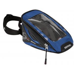 Tankbag na motocykl Oxford M1R Micro černo-modrý