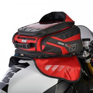 Tankbag na motocykl Oxford M30R černo-červený