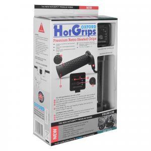 Vyhřívané gripy Oxford Hotgrips Premium New Retro