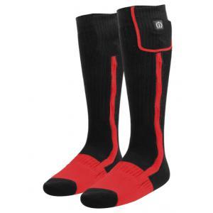 Vyhřívané ponožky KLAN-e černo-červené