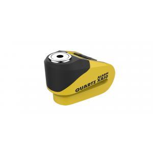 Zámek kotoučové brzdy Oxford Quartz Alarm XA10 žluto-černý