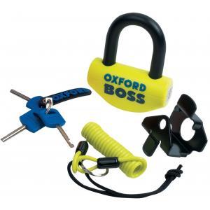 Zámek Oxford Big Boss U profil žluto-černý 16 mm