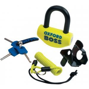Zámek Oxford Boss U profil žluto-černý 12,7 mm