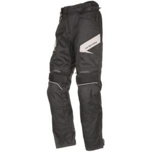 Zkrácené kalhoty na motorku Ayrton Brock černo-šedé výprodej