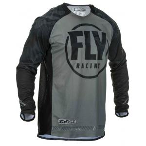 Motokrosový dres FLY Racing Evolution černo-šedý