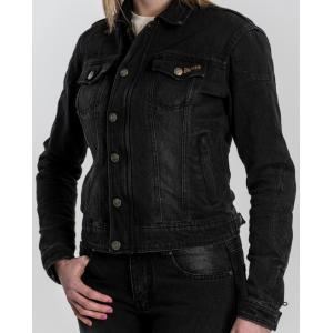 Dámská bunda na motorku BROGER Florida černá výprodej