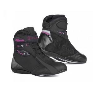 Dámské boty na motorku Eleveit T SPORT WP černo-fialové