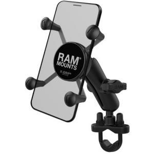 Držák mobilního telefonu RAM Mounts X-Grip na řídítka o průměru 12,7-31,75 mm