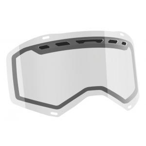 Dvojité čiré sklo do motokrosových brýlí SCOTT Prospect/Fury