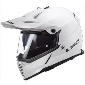 Enduro přilba LS2 MX436 Pioneer EVO Solid bílá