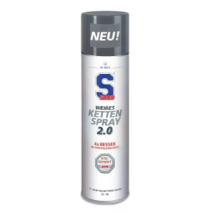 Mazivo na řetězy S100 - White Chain Spray 2.0 400 ml