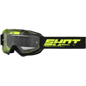 Motokrosové brýle Shot Assault Elite černo-fluo žluté