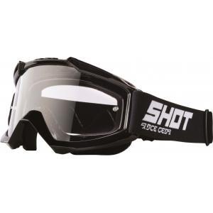 Motokrosové brýle Shot Assault Solid černé