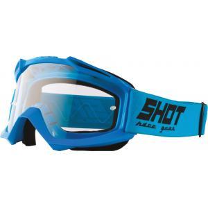 Motokrosové brýle Shot Assault Solid modré