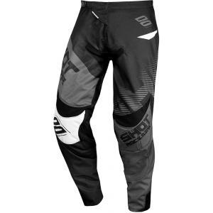 Motokrosové kalhoty Shot Contact Trust černo-šedé