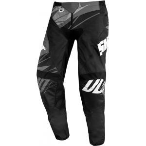 Motokrosové kalhoty Shot Devo Ventury černo-bílo-šedé