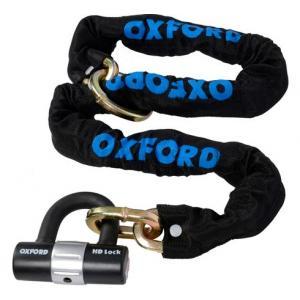Řetězový zámek na motocykl Oxford HD Loop 1,2 m