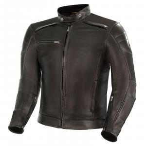 Bunda na motorku Shima Blake hnědá výprodej