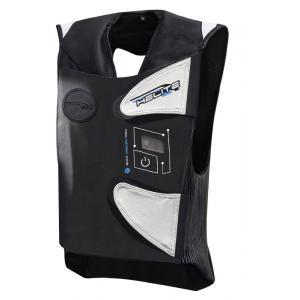 Elektronická airbagová vesta HELITE e-GP Air černo-bílá