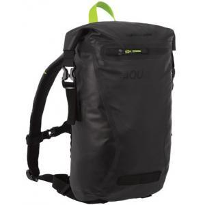 Vodotěsný batoh Oxford AQUA EVO černo-fluo žlutý 12 l