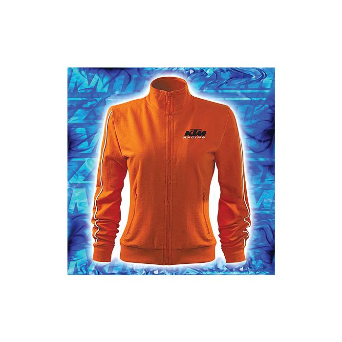 Dámská mikina s motivem KTM oranžová výprodej