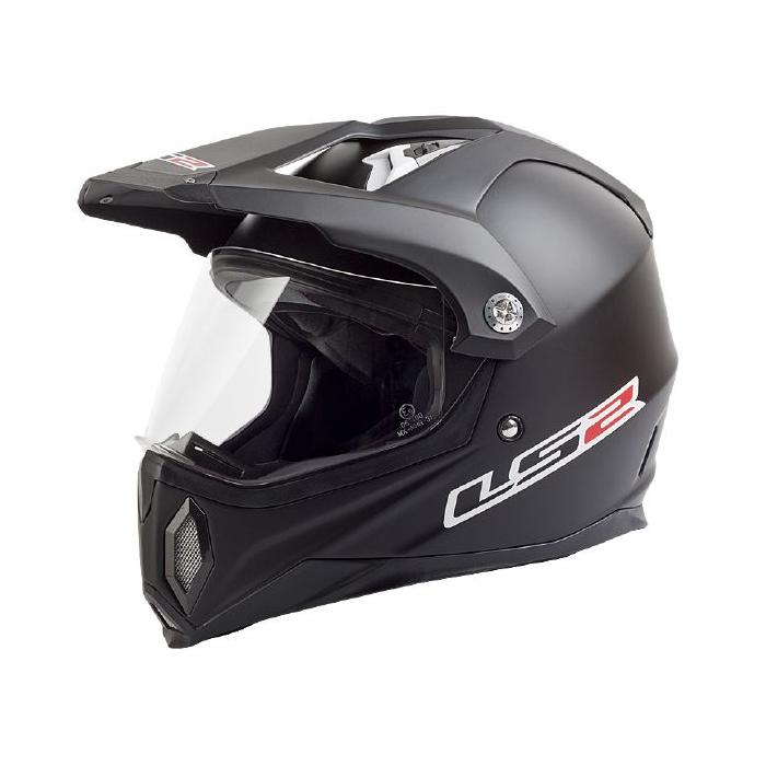 Enduro přilba LS2 MX453 GEARS černá matná výprodej