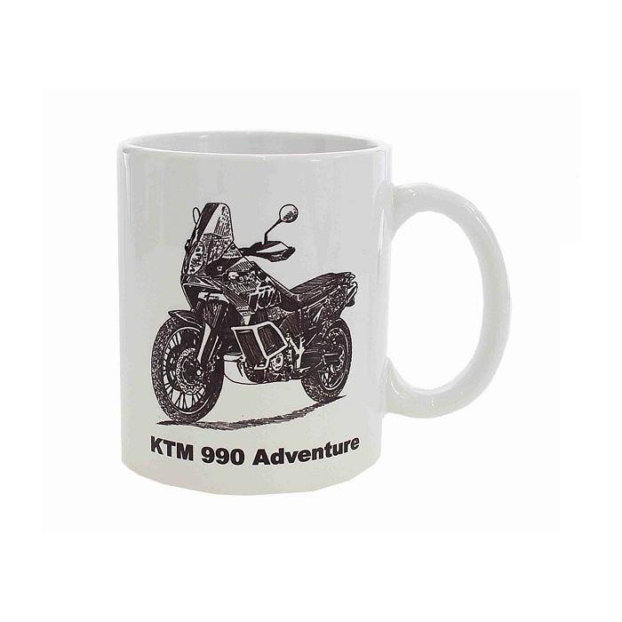 Hrnek s potiskem KTM 990 Adventure