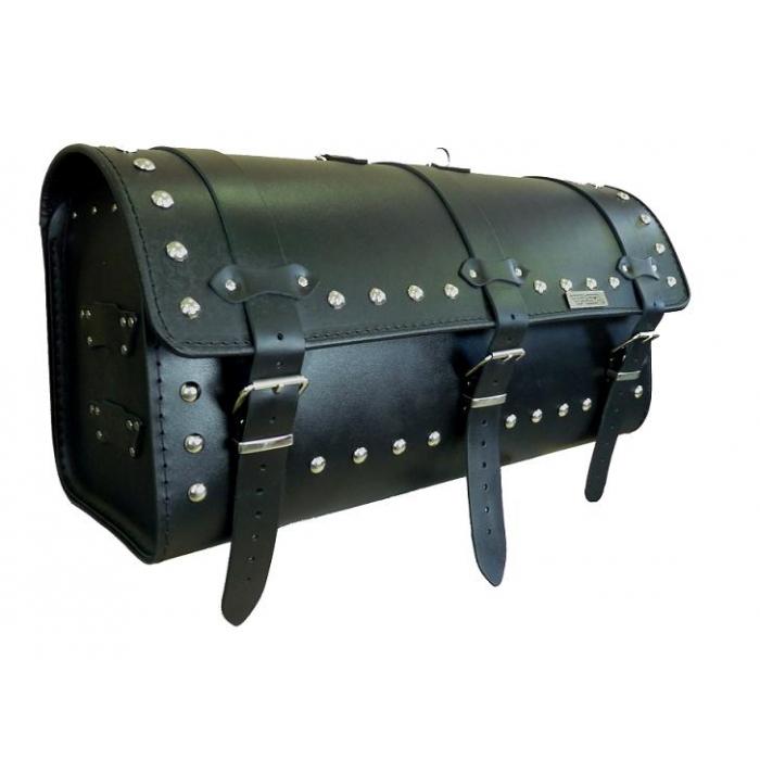 Kožený moto kufr na motorku Chopper RSA-14B výprodej