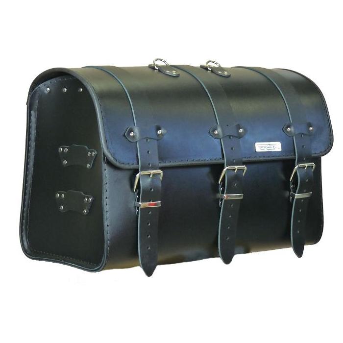 Kožený moto kufr na motorku Chopper RSA-17A