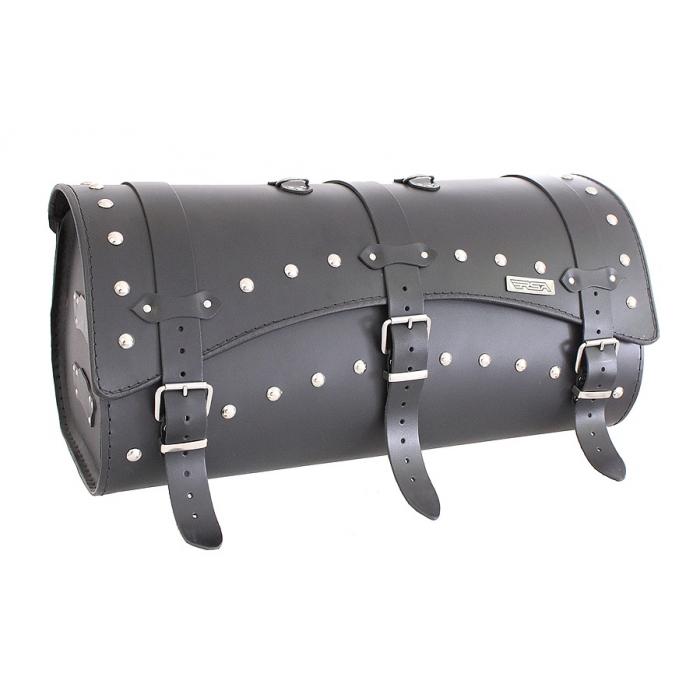 Kožený moto kufr RSA-10B - délka 60