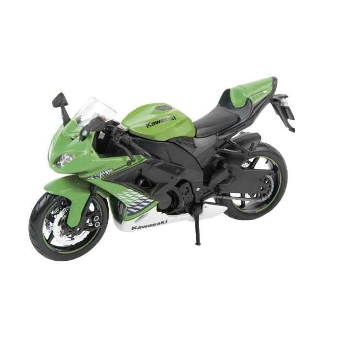 Model motocyklu Maisto-KAWASAKI ZX-10 R, GREEN