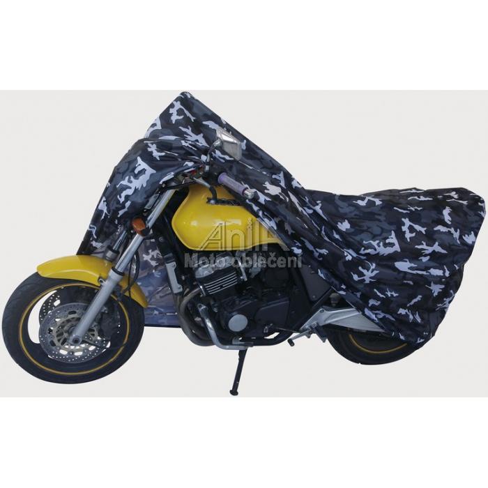 Moto plachta na motocykl Camuflage