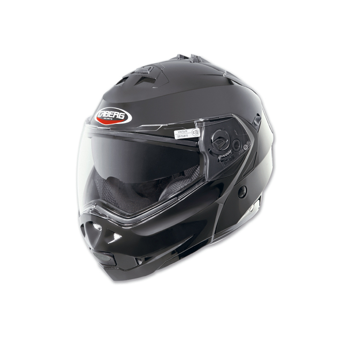 Moto přilby Caberg Duke Smart černá lesklá výprodej