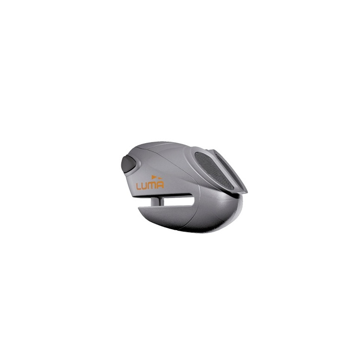 Moto zámek s alarmem na kotouč Luma-Enduro 912