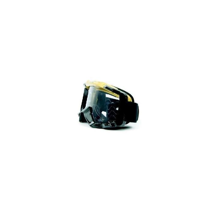 Motokrosové brýle M-Line T7058 zlato-černé