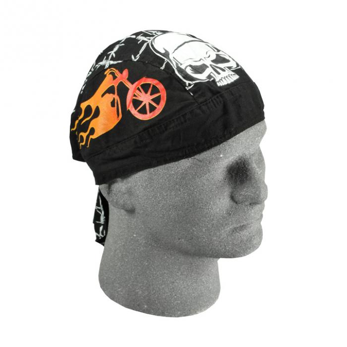 Šátek na moto Zanhead Flaydanna Kaiser Skull