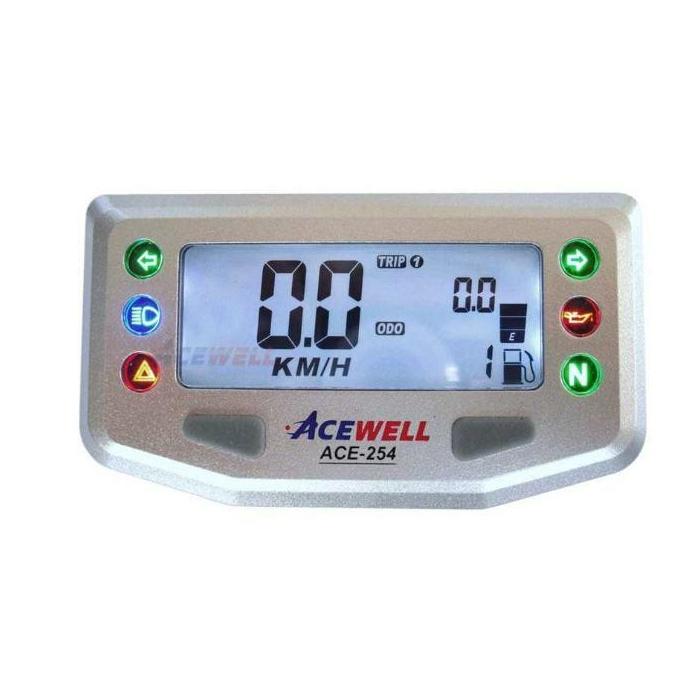 Univerzální moto budík Acewell ACE-254
