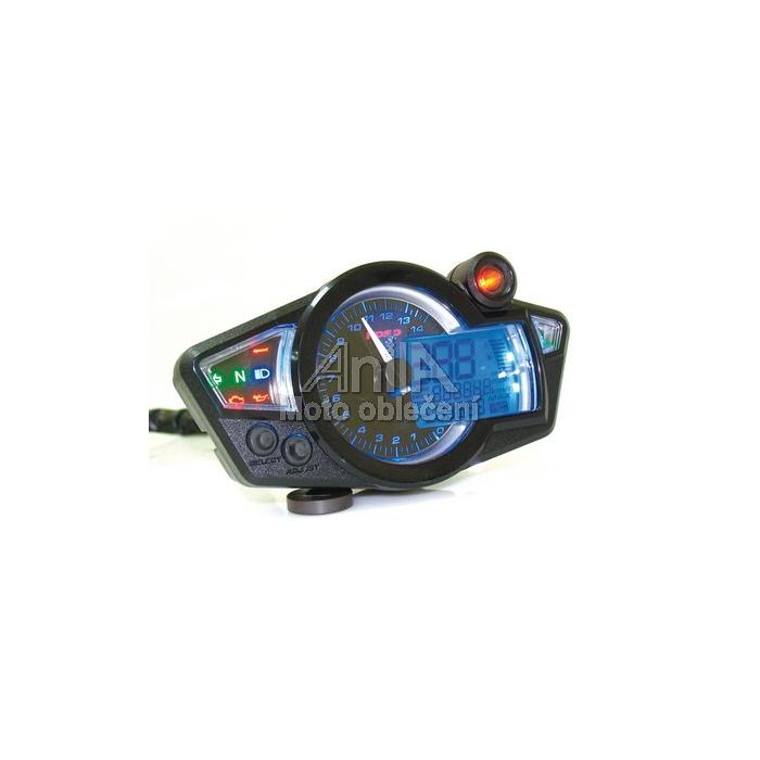 Univerzální moto budíky Koso-RX1N