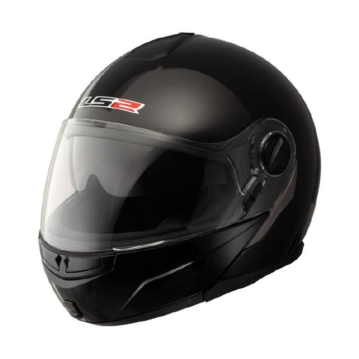 Vyklápěcí přilba na motorku LS2 Ride černá