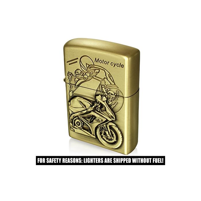 Zapalovač z chirurgické oceli Motorcycle Sports