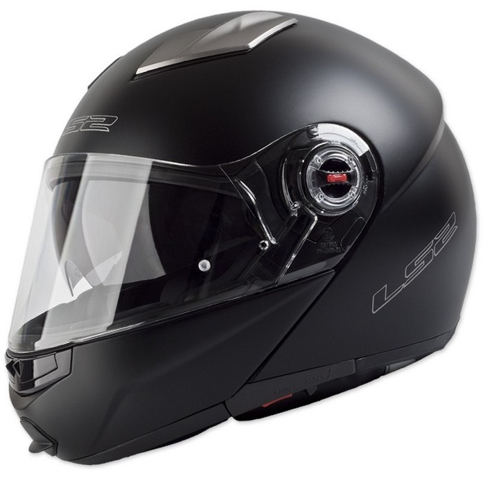 Vyklápěcí přilba na motorku LS2 EASY černá matná výprodej