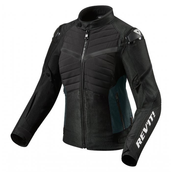 Dámská bunda na motorku Revit Arc H2O černá výprodej