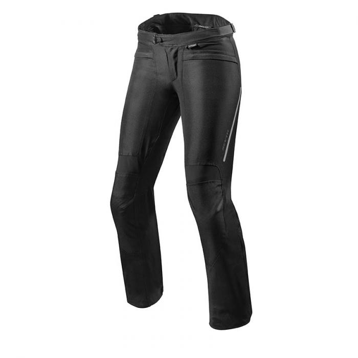 Dámské kalhoty na motorku Revit Factor 4 černé prodloužené